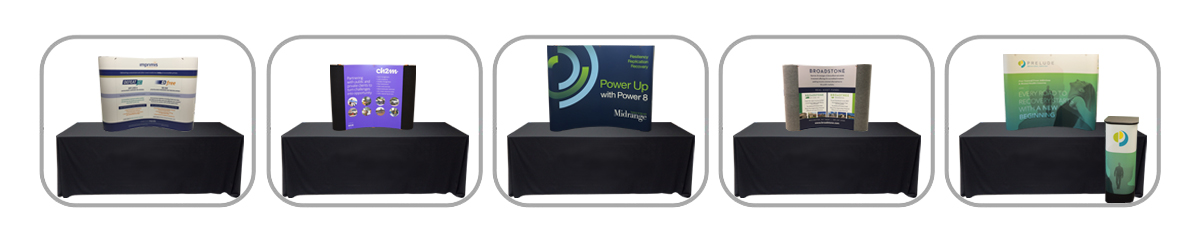 Table Top Pop-Up Displays - Trade Show Displays