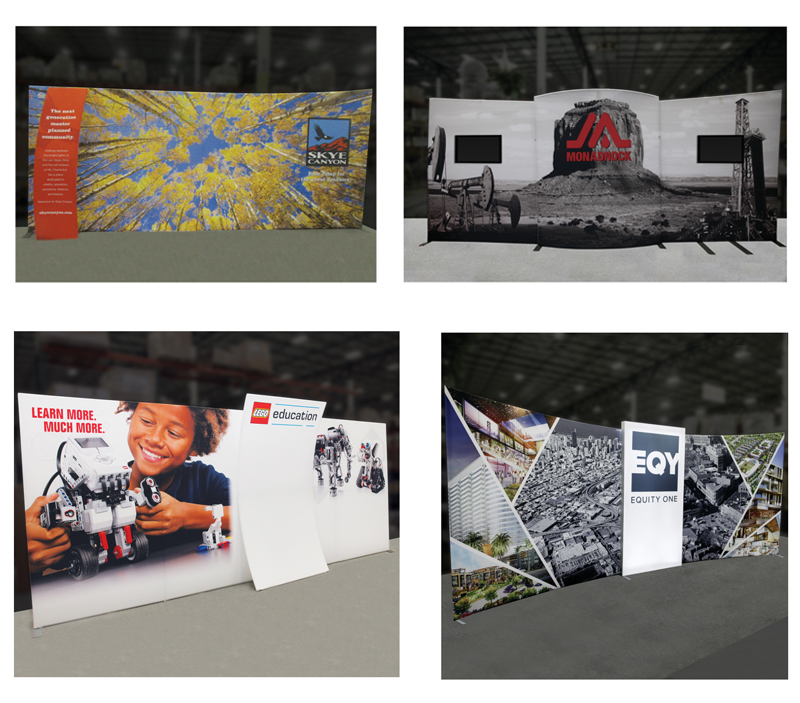 20ft Formulate Designer Tension Fabric Displays