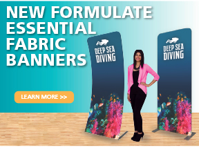 New Formulate Fabric Banners