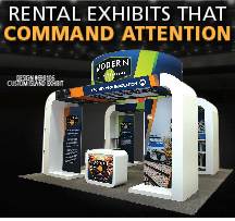Rental Exhibits that Command Attention