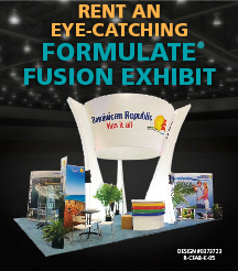 Rental Formulate Tension Fabric Displays