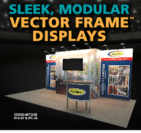 Sleek Modular Vector Displays
