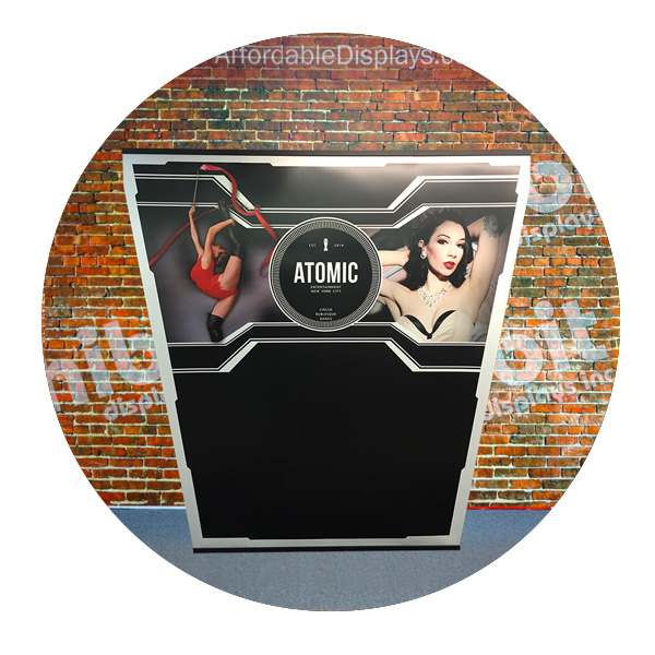 Atomic Entertainment Banner-Mate by Affordable Displays