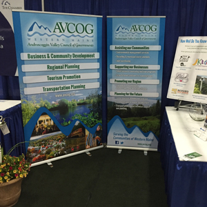 AVCOG banner stands