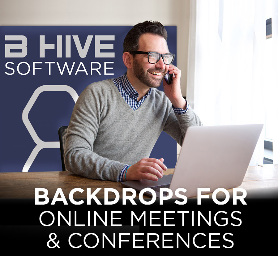 Backdrops online meetings and conferences