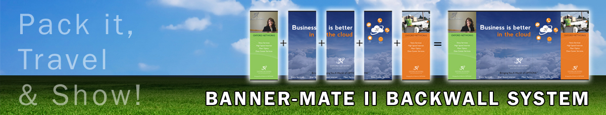 Banner-Mate II by Affordable Exhibit Displays