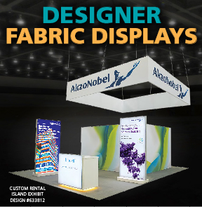 Designer Fabric Displays