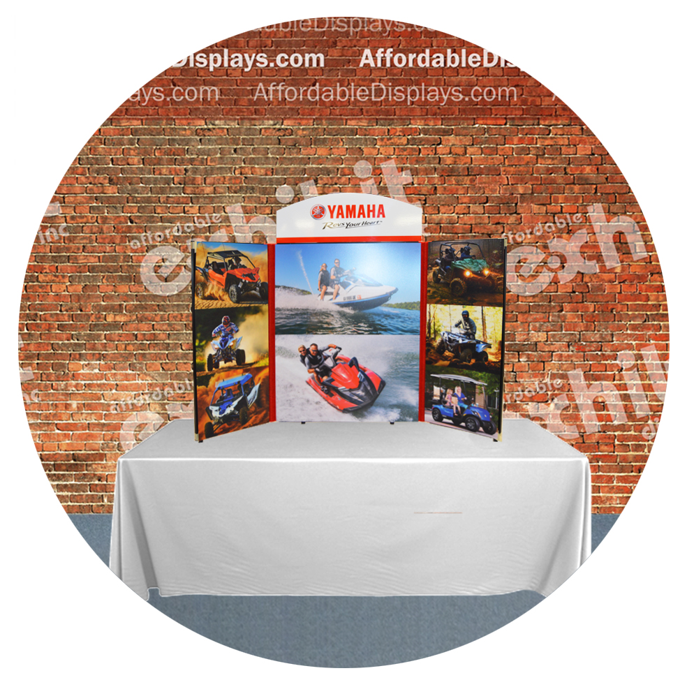 Table top displays for trade shows