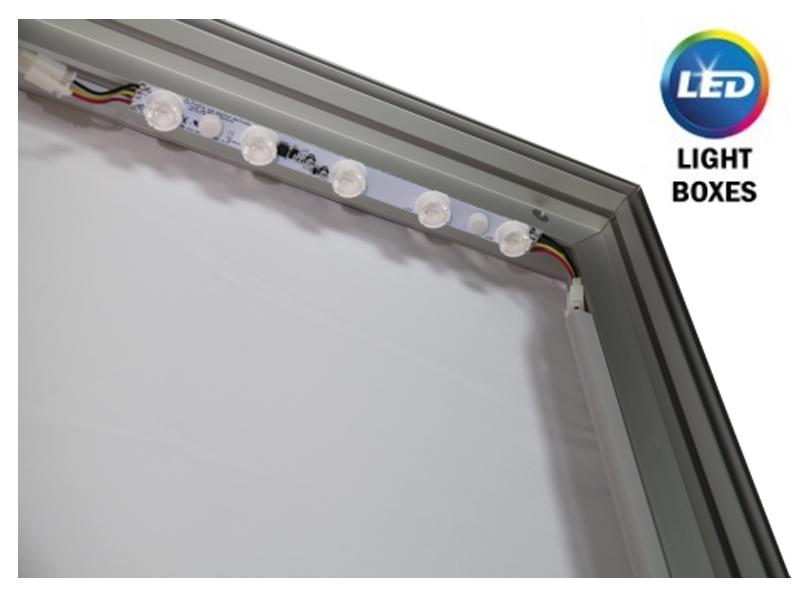 Vector Frame LED light boxes