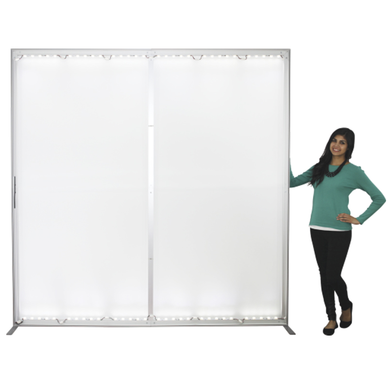 Vector Frame push fit backlit light box with Stabilizer Feet