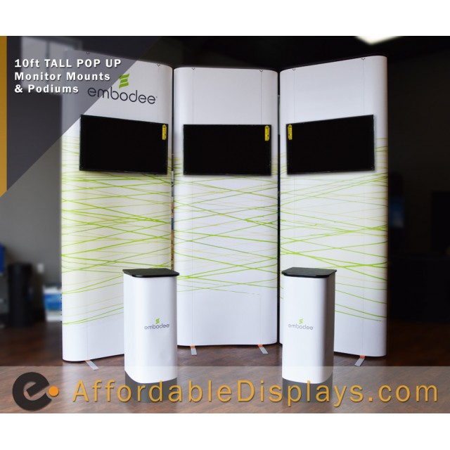 Embodee - Pop Up Tower Displays