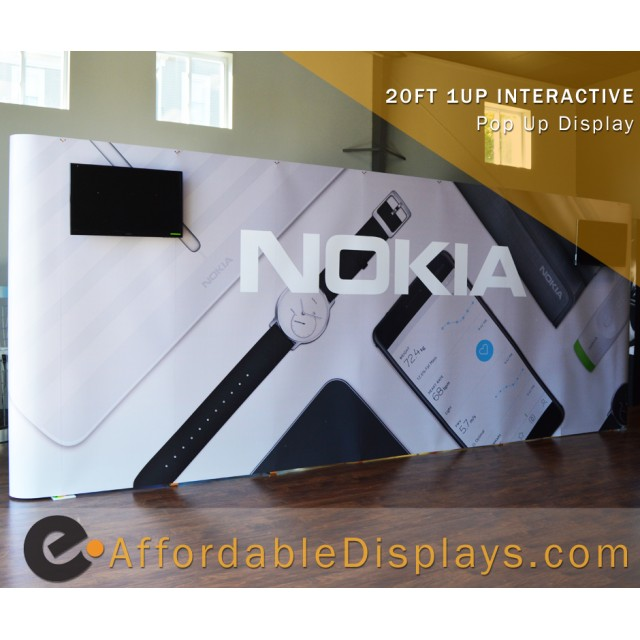Nokia - Straight Pop Up Display
