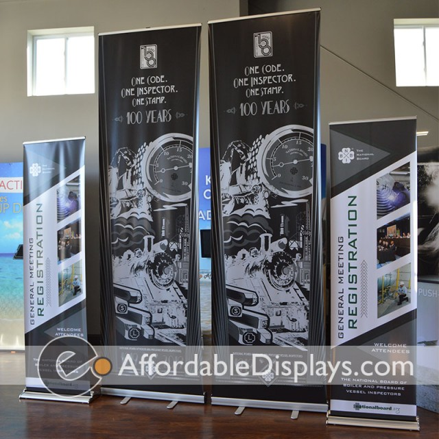 Pull Up Banner, Retractable Banner Stands