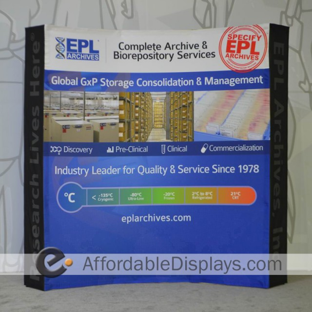 Tension Fabric Displays - Maine EPL Archives