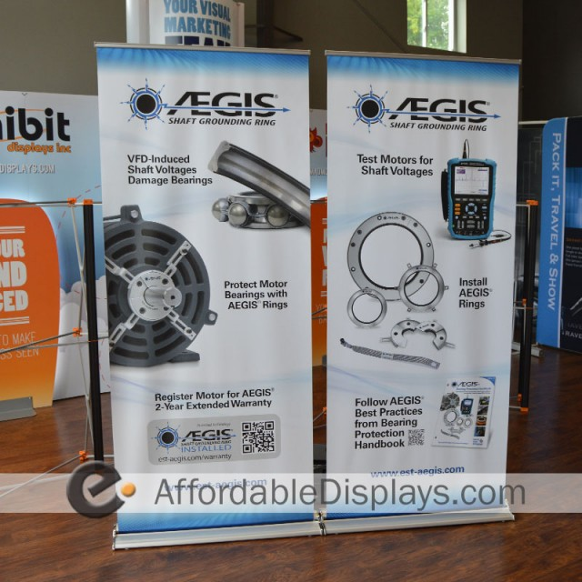 Retractable Banner Stands - AEGIS