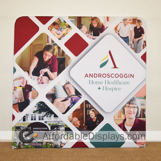 Tension Fabric Displays - Androscoggin Home Healthcare