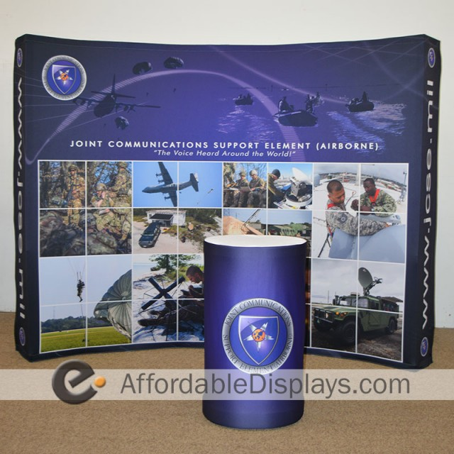 Star™ Tension Fabric Display - Joint Communications