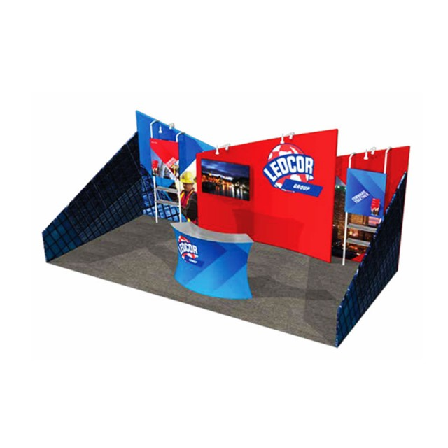 Booth Size: 10ft x 20ft Inline